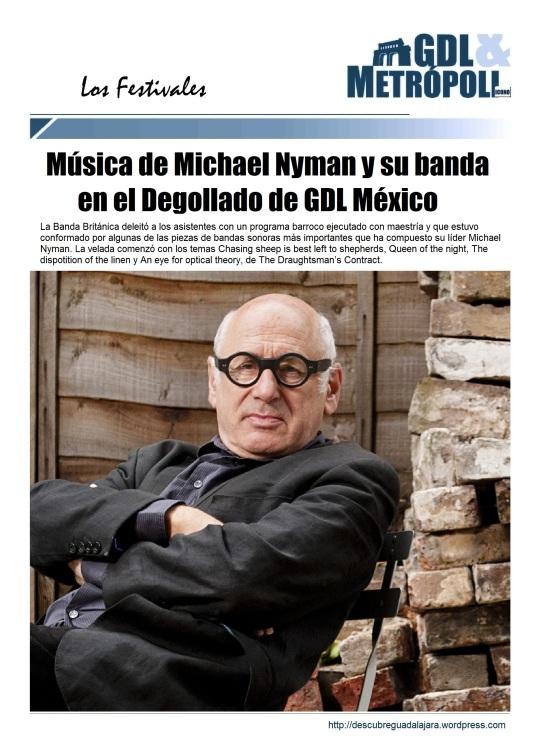 Festival de Mayo Michael Nyman