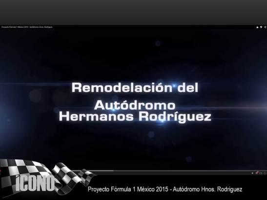 Fórmula1 México 2015 Video Autódromo Hnos. Rguez.