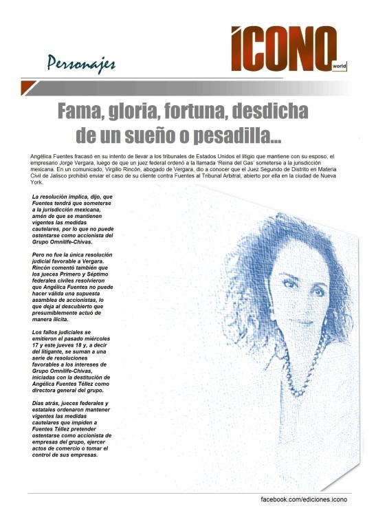 JORGE VERGARA OMNILIFE vs Angélissima Fuentes