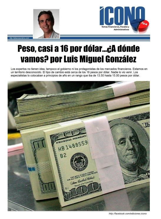 Devaluaciones en México 2015