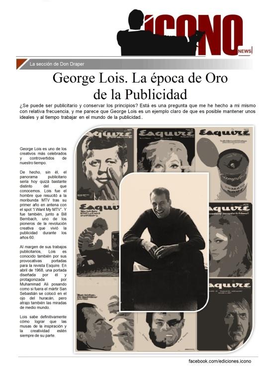 Cátedras de Publicidad George Lois