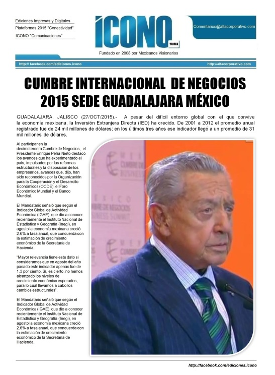 México Cumbre de Negocios 2015