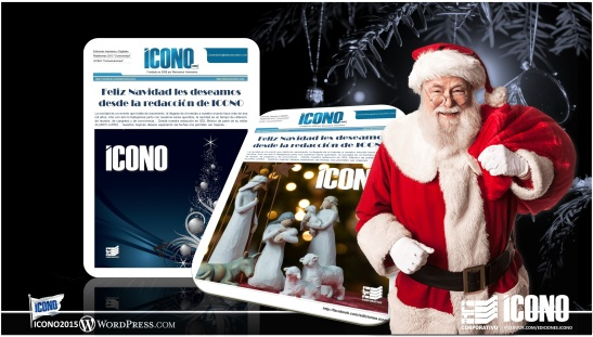 Feliz Navidad les deseamos desde la redacción de ICONO