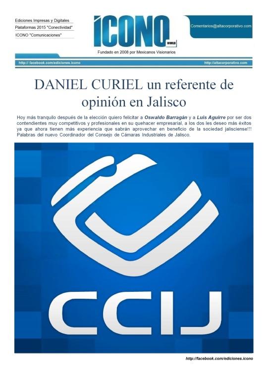 DANIEL CURIEL un referente de opinión en Jalisco